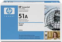 Заправка картриджей HP Q7551A (№51A), принтеров HP LaserJet P3005/M3027/M3035