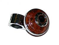CarLife - Лентяйка, универсальная ручка руля, Wood & Metal, WK-543