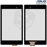 Touchscreen (сенсорный экран) для Asus Google Nexus 7 NEW 2 Gen 2014, черный, оригинал