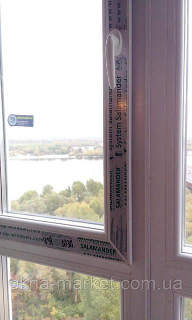 Пластиковые окна Salamander Киев