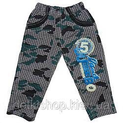 Дитячі штани «Хакі-клітина» (зелені)