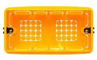 Коробка монтажная 4 модуля в кирпич