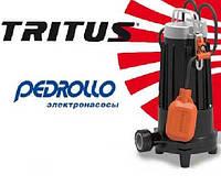 Новинка от компании Pedrollo (Италия) – серия погружных насосов с режущим механизмом Pedrollo TRITUS.