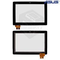 Touchscreen (сенсорный экран) для Asus PadFone 2 A68, черный, оригинал