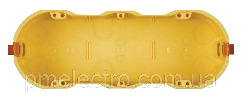 Коробка монтажная 7 модулей для полых стен