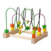 "IKEA ""МУЛА"" Игрушка развивающая, лабиринт"