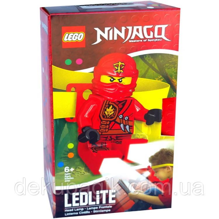 Лего фонарик Ниндзяго Кай налобный
