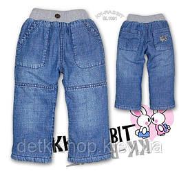 Дитячі джинси на флісі KK-RABBIT (модель 2)