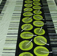 Микрофибровая простынь, покрывало Elway полуторное Коктейль