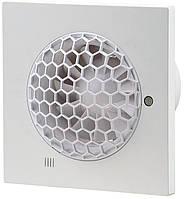 Вентилятор Вентс 100 Квайт С Т, бесшумный энергосберегающий бытовой вентилятор с таймером, Vents, Украина
