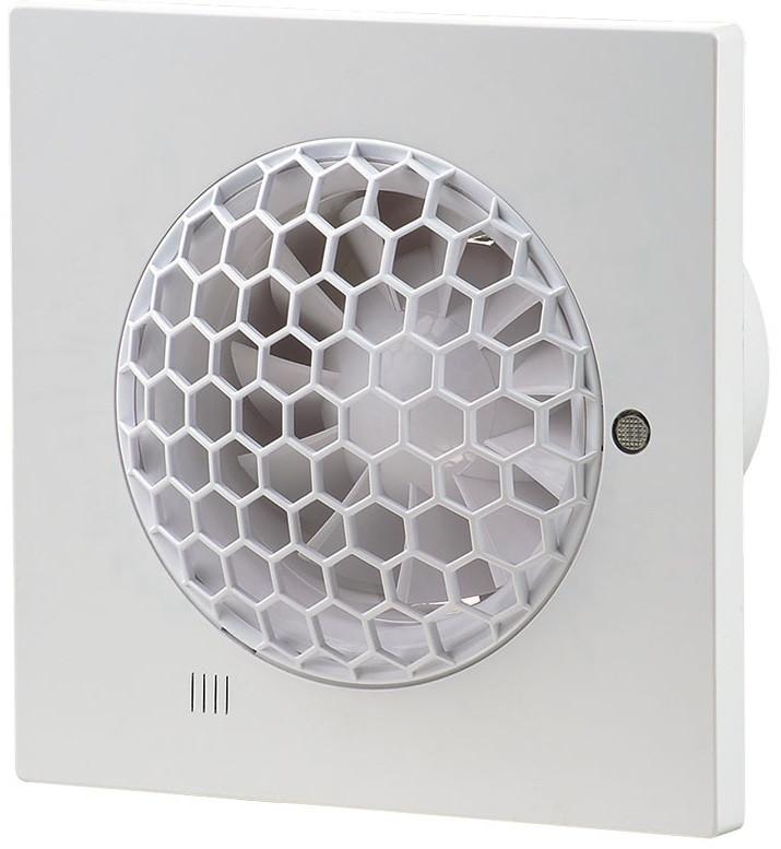 Вентилятор Вентс 100 Квайт С Т, бесшумный энергосберегающий бытовой вентилятор с таймером, Vents, Украина - STARPLUS в Харькове