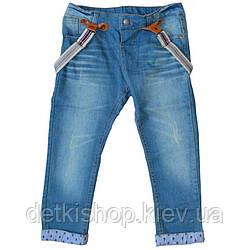 Дитячі джинси Denim з підтяжками