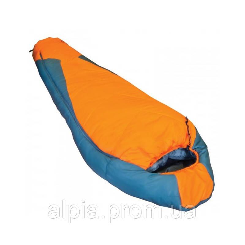 Спальный мешок Tramp Oimykon TRS-001.02 оранжево/серый (левый)