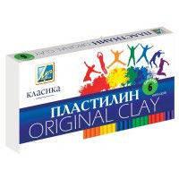 """Пластилін Промінь Україна 6кол.""""Класика"""", 144гр."""