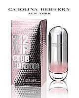 Carolina Herrera 212 vip Club Edition Woman Каролина Херрера 212 вип Клаб Эдишн Вумен брэнд женский 80мл
