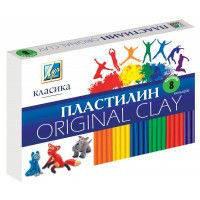 """Пластилін Промінь Україна 8 кол.""""Класика"""" 192г."""