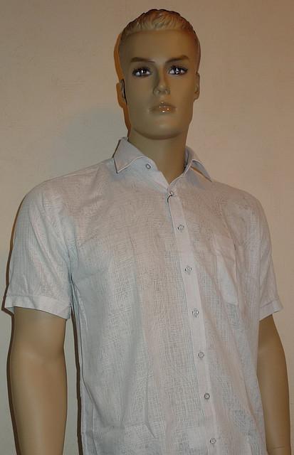 Легкая рубашка AYGEN серого цвета