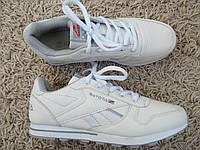 Кроссовки унисекс белые точный пошив кроссовок Reebok копия, фото 1