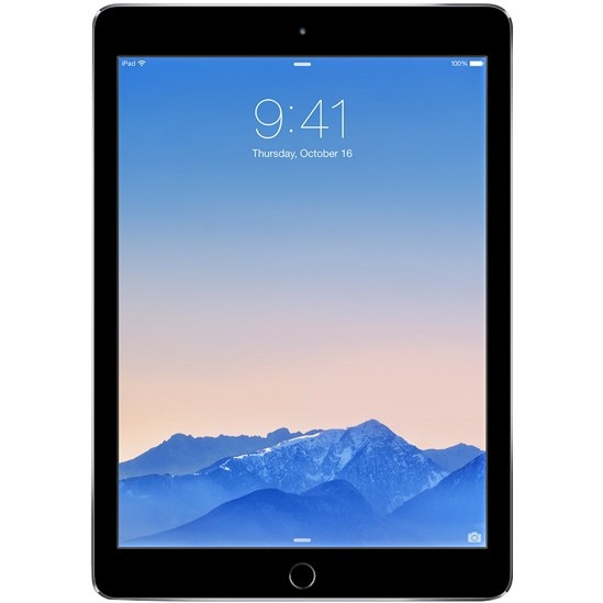 Планшет Apple iPad Air 2 Wi-Fi 16GB Space Gray (MGL12)