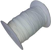 Резинка для одежды (10мм/100м) белая