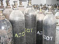 Заправка баллонов азотом