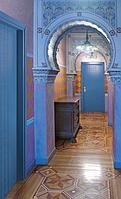Деревянная противопожарная дверь для гостиниц семейства Opera, Manon
