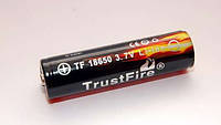 Аккумулятор литиевый Li-Ion 18650 TrustFire 3.7V (3000mAh), защищенный
