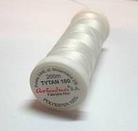 Бисерная нить,Титан,цвет белый,200 метров,Ariadna