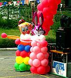 Оформлення повітряними і гелієвими кулями дитячих свят, фото 4