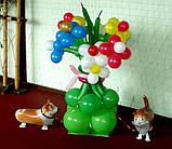 Оформлення повітряними і гелієвими кулями дитячих свят, фото 2