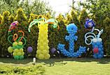 Оформлення повітряними і гелієвими кулями дитячих свят, фото 5