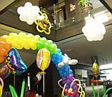 Оформлення повітряними і гелієвими кулями дитячих свят, фото 3