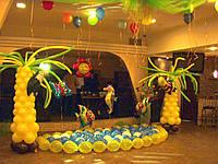 Оформление воздушными и гелиевыми шарами детских праздников