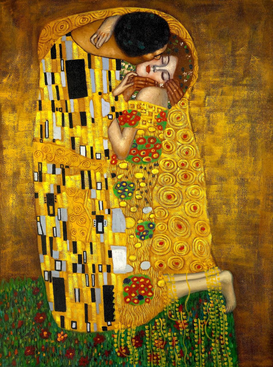 Картина по номерам Роспись на холсте Аура поцелуя КНО1109 40*50 без коробки