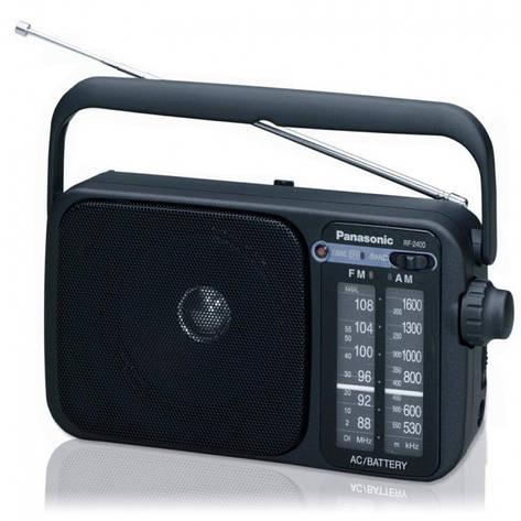 Радіоприймач Panasonic RF-2400EE9-K, фото 2