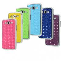 Пластиковая накладка Crystal Color iPhone 5/Samsung SIII/SIV (камни)