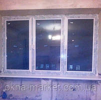 "Трехстворчатые окна Salamander (Саламандер) с установкой - компания ""Окна Маркет"" (066) 777-31-49"