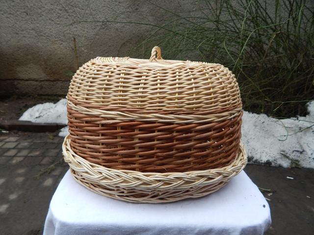 Хлебницы плетеные из лозы