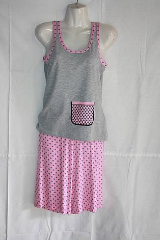 Пижама майка+бриджи, фото 2