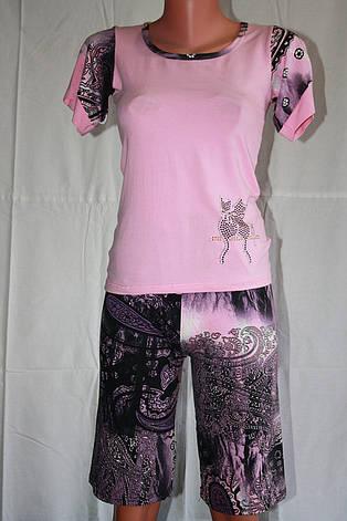 Пижама футболка+бриджи, фото 2