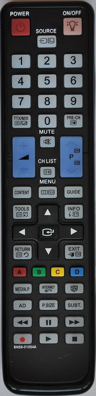 Пульт к телевизору  SAMSUNG. Модель BN59-01054A. SMART /3D