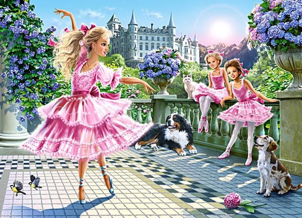 Пазлы 180 элементов Castorland 018222 Балерины, фото 2