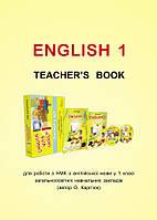 1 клас Лібра Розробки уроків Англійська мова 1 клас Книга для вчителя до навчально методичного комплекту Карпюк