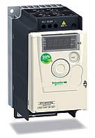 ATV12H037M2  Преобразователь частоты ATV12 0.37кВт 240В 1ф