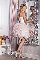 Короткое свадебное платье «Royal rose (мини)» для невесты
