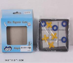 Крестики-нолики магнит hy715d дорожные (240шт/2) в кор.14*11*1,5см