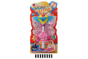 Волшебная палочка со световым эфектом jx-2019, на планшете: 46х26х6 см