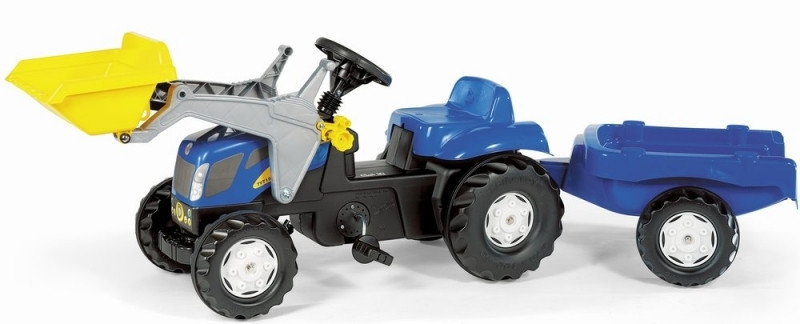 Трактор педальный с ковшом New Holland Rolly Toys 23929