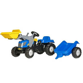 Трактор педальный с ковшом New Holland Rolly Toys 23929, фото 2
