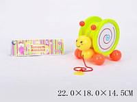 """Каталочка """"пчелка"""" 8002 (t272-d2145), на веревочке, в пакете: 22х18х14 см"""